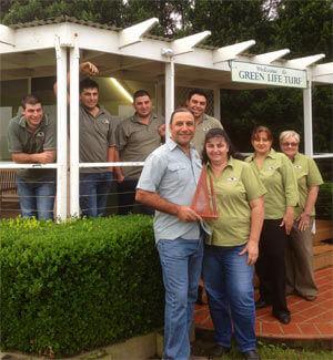 2013 Australian Achievers Award for Australias Landscape Nursery + Garden Services + Supplies