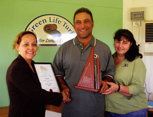 Award winning turf suppliers - Michael and Alexandria Muscat - Green Life Turf