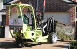 Turf delivered as close as possible to your job