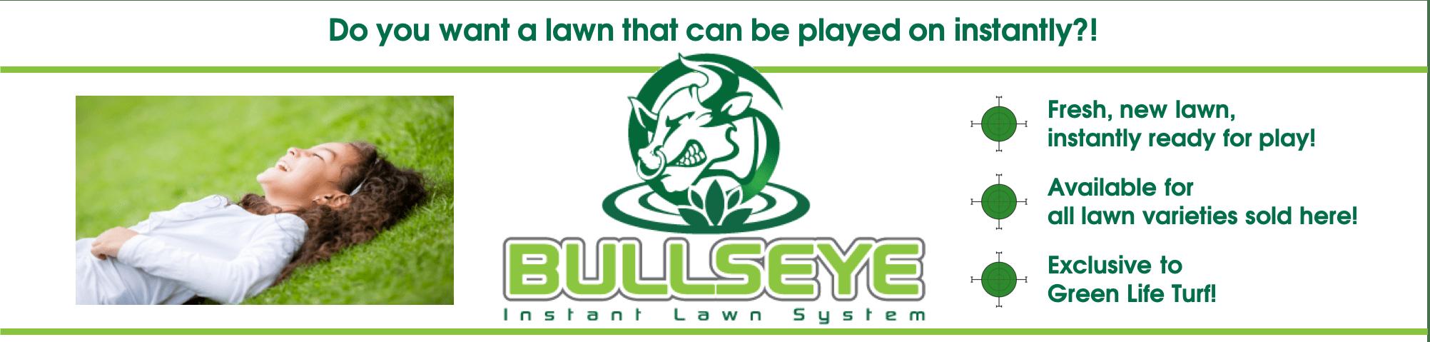 Bullseye Instant Real Lawn