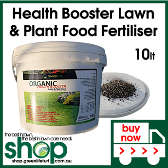 Health Booster Lawn & Plant Food Fertiliser - Shop Online - Lawn Care Products