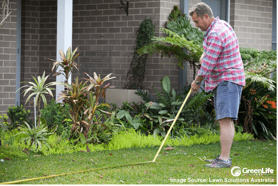 Blog Jason Hodges Measuring Lawn w LSA Source GLT Logo-min.png